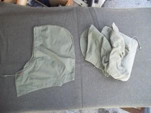 Cappuccio in tela per Field jachet m-1943