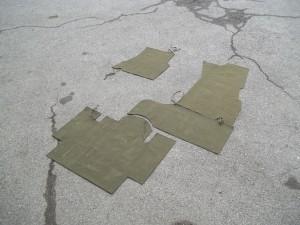 Tappetini per pavimento jeep MB-GPW